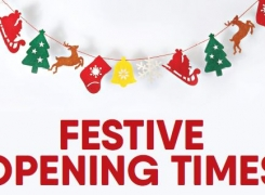 2020-2021 Festive opening hours