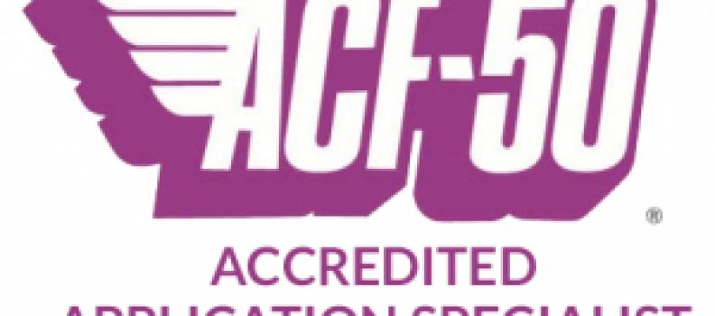 ACF50 application centre